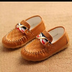 Toddler PU leather slippers - EUR 28 / US 11